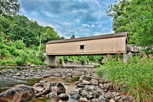 Comstock Covered Bridge, East Hampton, CT.