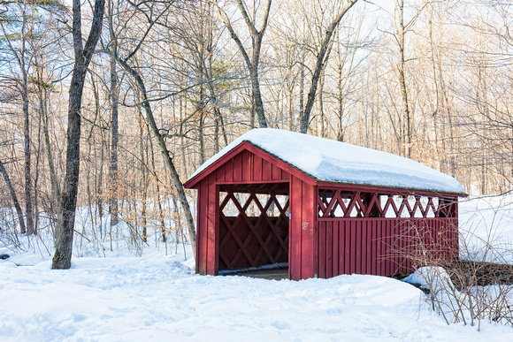 Covered Bridge, Chatfield Hollow State Park